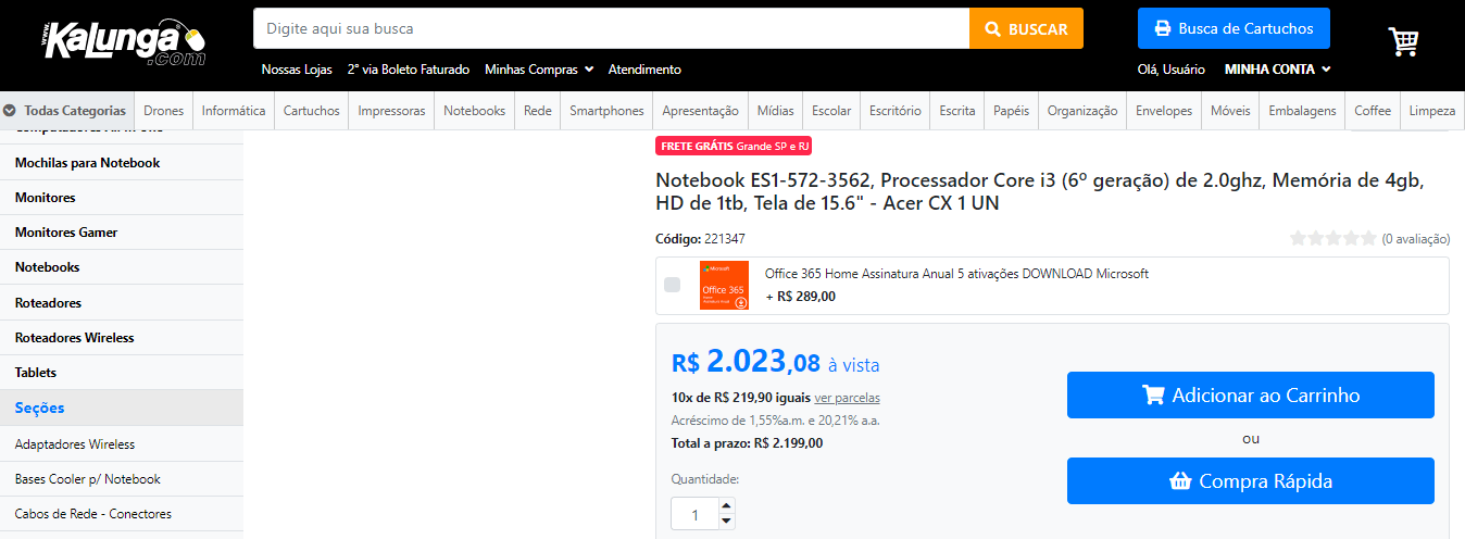 compras por impulso e-commerce