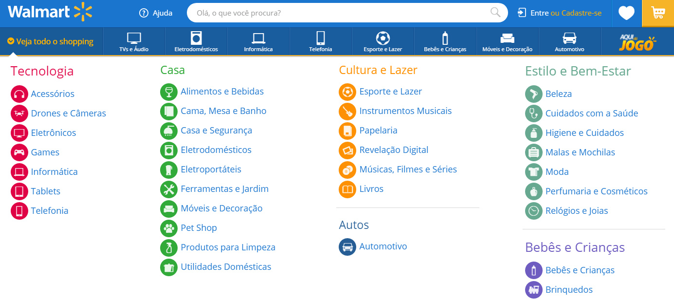 categorias de produtos