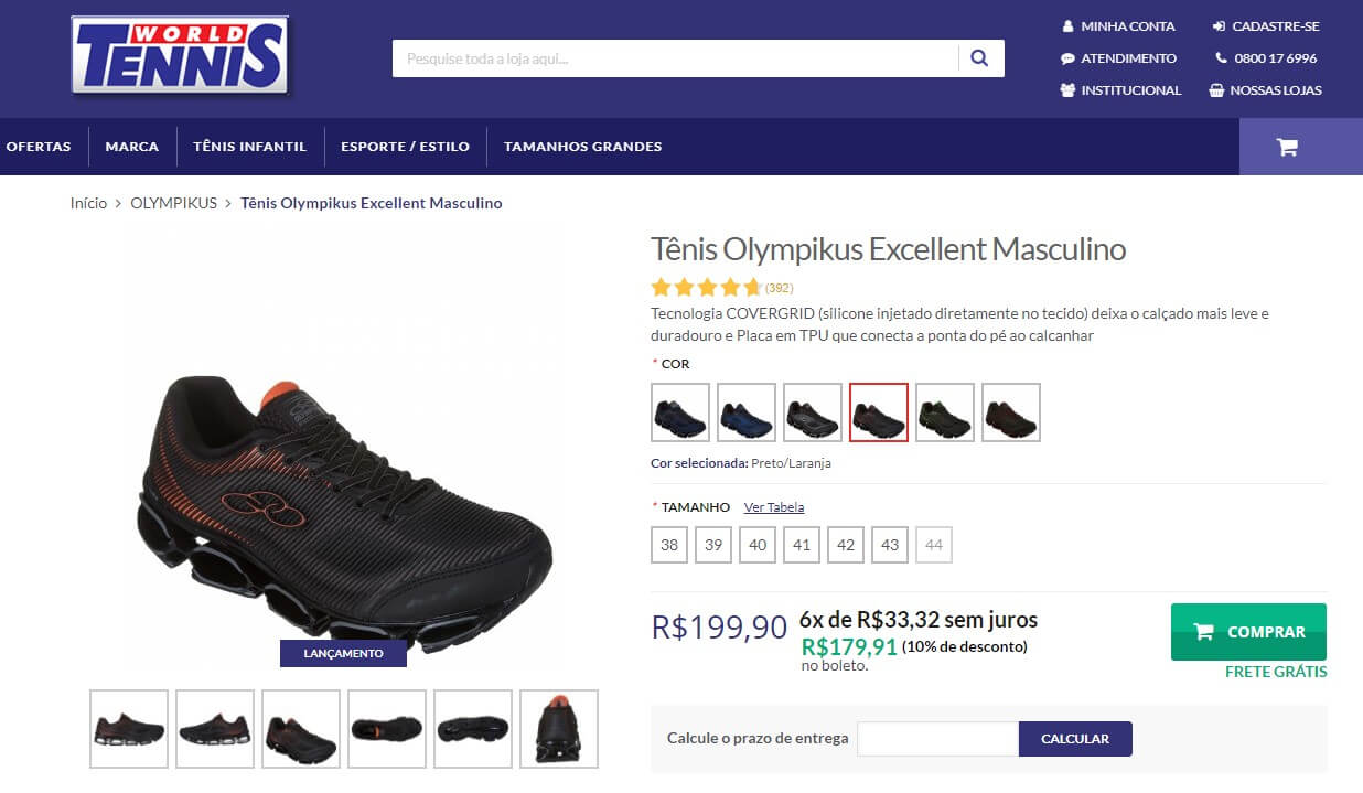 fotos no e-commerce
